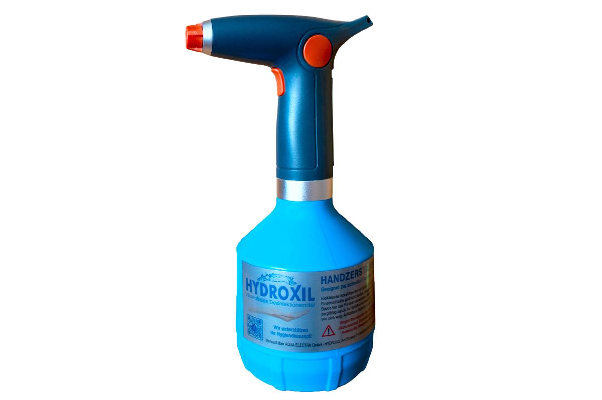 Turbozerstäuber Desinfektionsmittel